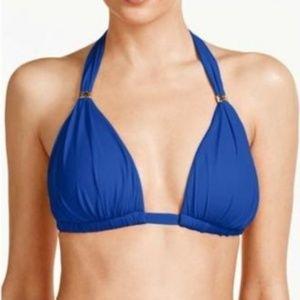 Ralph Lauren Molded Cup Triangle Bikini Top